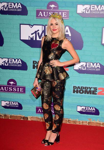 top pixie lott mtv ema awards pants