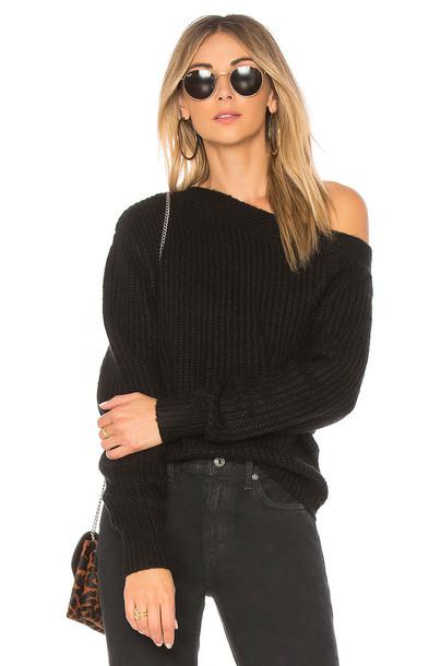 Minkpink pullover jumper black sweater