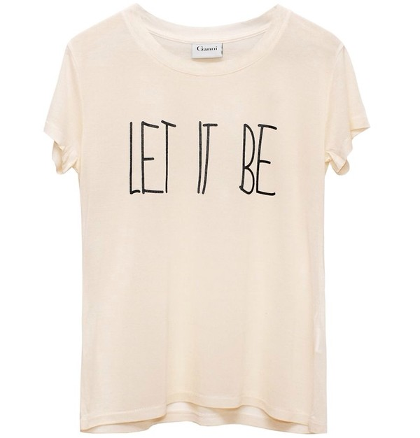 shirt let it be the beatles cream t-shirt