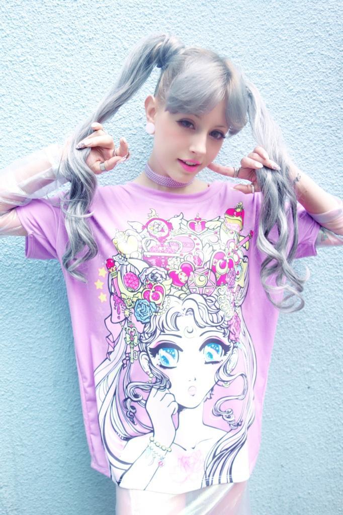 Moonlight Legend Shirt Ships Late Aug Miss Kika Online Store