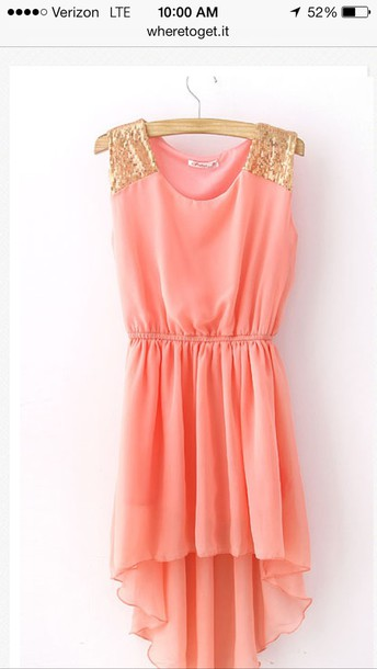dress coral