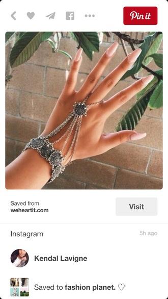 jewels chain gemstone accessories nail accessories