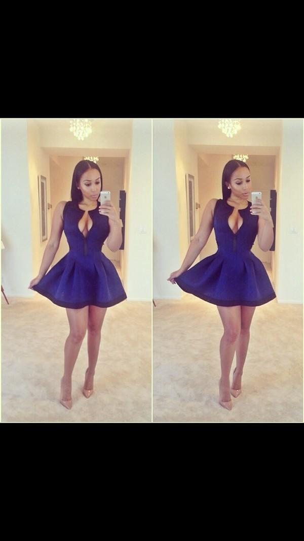 dress blue blue dress luxury fashion instagram