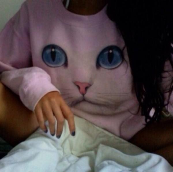sweater cats sweatshirt cat sweatshirt