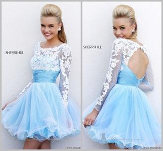 dress blue dress lace dress