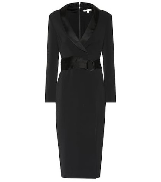 Jonathan Simkhai Crêpe midi dress in black