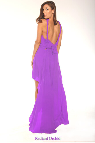 dress purple orchid dress style class parides bikiniluxe