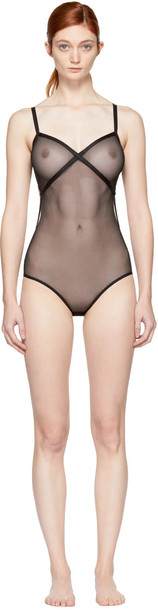 Le Petit Trou bodysuit black underwear