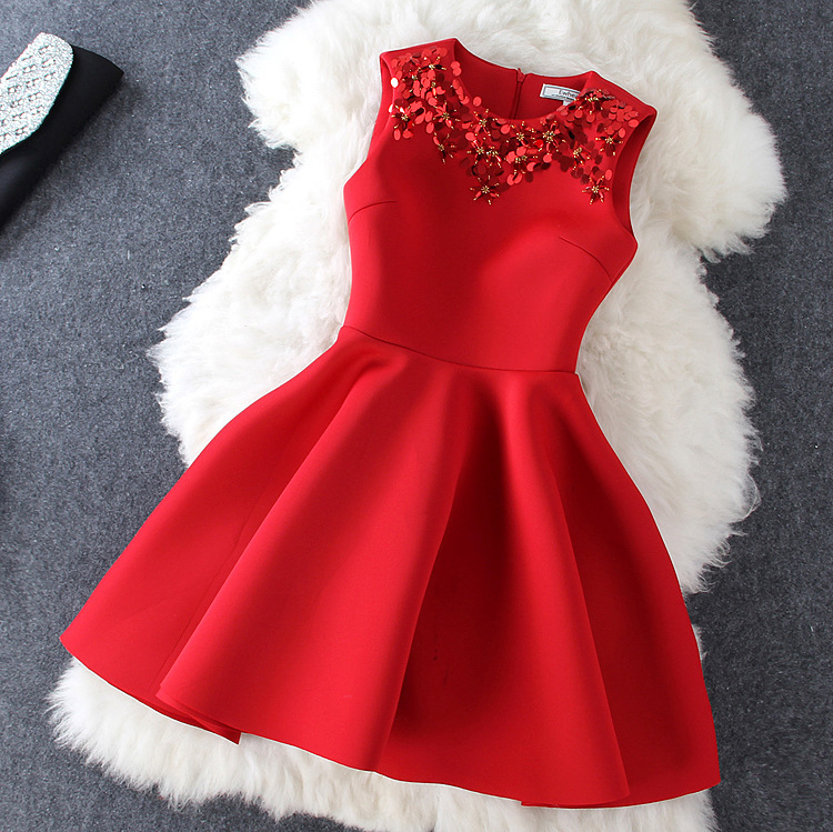Hot shining fashion show body elegant dress