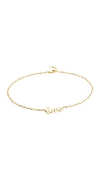 love anklet gold jewels