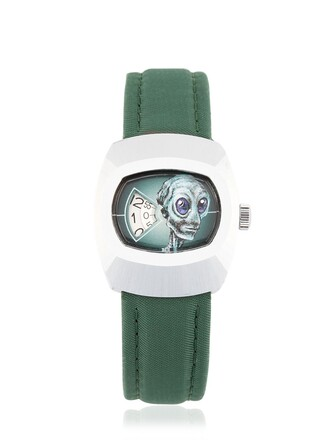 vintage watch vintage new watch green jewels