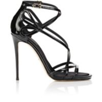 Dolce & Gabbana Patent Leather Strappy Sandals at Barneys.com