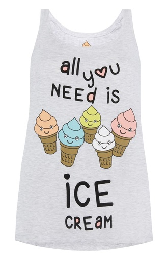 top lovely ice cream quote on it