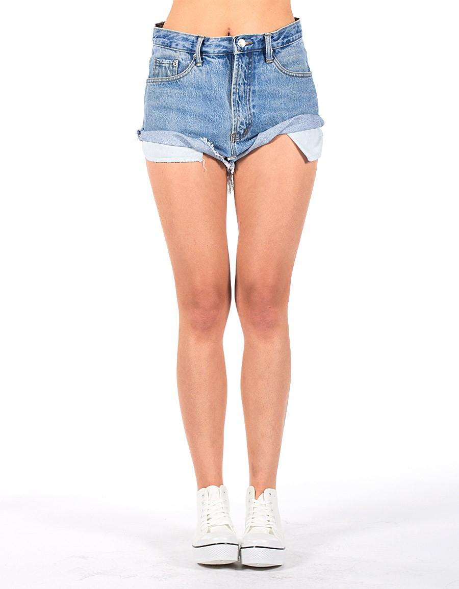 levis vintage shorts light blue. Black Bedroom Furniture Sets. Home Design Ideas