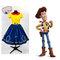 Peter pan collar sheriff woody disney bound inspired dress