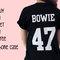 Bowie 47 100% cotone t-shirt, unisex