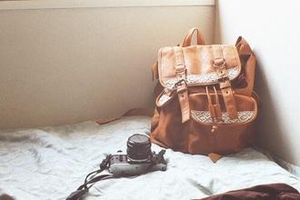 bag shoulder bag duffle duffle bag vintage weheartit leather backpack