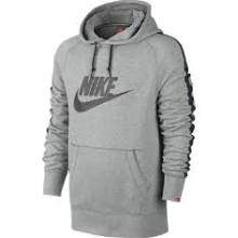 Nike Ace Pullover Men's Hoodie - Dark Grey Heather