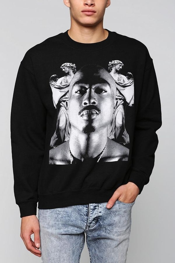 sweater tupac sweatshirt