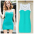 new 2015 women summer casual bandage dress plus size women clothing chiffon sleeveless o neck hollow out novelty patchwork tank-in Dresses from Apparel & Accessories on Aliexpress.com | Alibaba Group