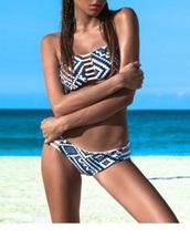 swimwear,girl,girly,girly wishlist,two-piece,swimwear two piece,bikini,bikini top,bikini bottoms,aztec