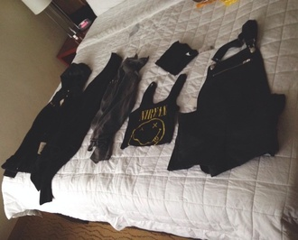 jacket clothes black nirvana cool