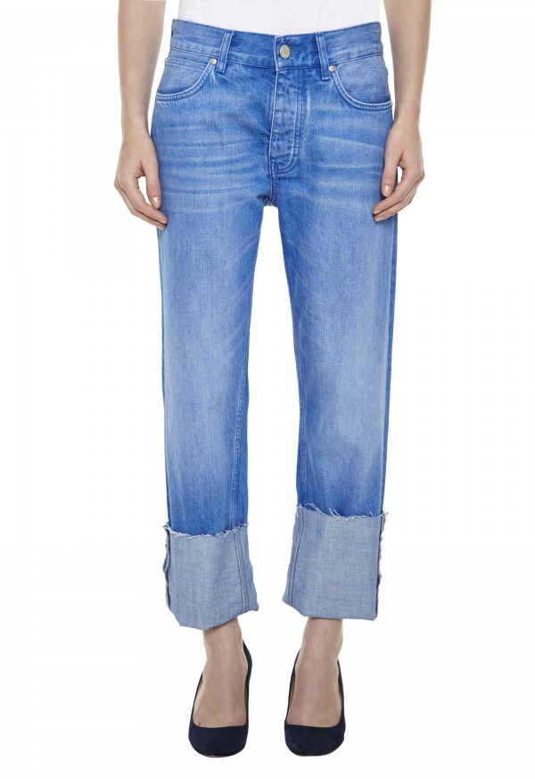 The PHOEBE Jean - MID RISE, SLOUCH LEG - Electric Vintage - MiH Jeans