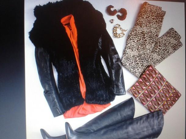 coat shoes jacket