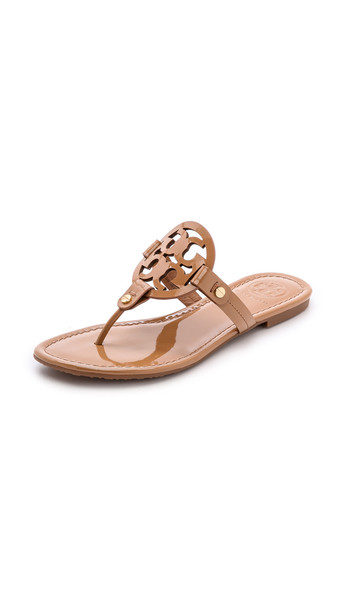 Tory Burch Miller Thong Sandals - Sand