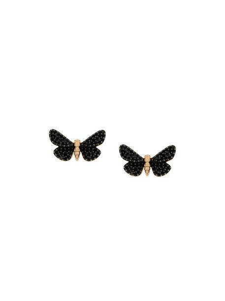 Astley Clarke women earrings gold black jewels