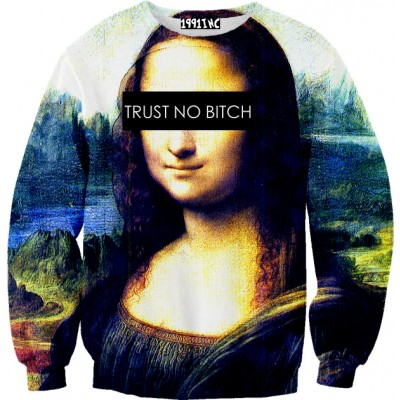 ☮♡ trust no bitch sweater ✞☆