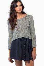 tobi,fluffy,knit,warm,Half Top,crop swam eater,cropped sweater