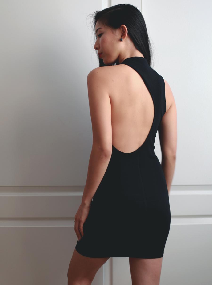 Lune Cutout Dress — LAST NIGHT