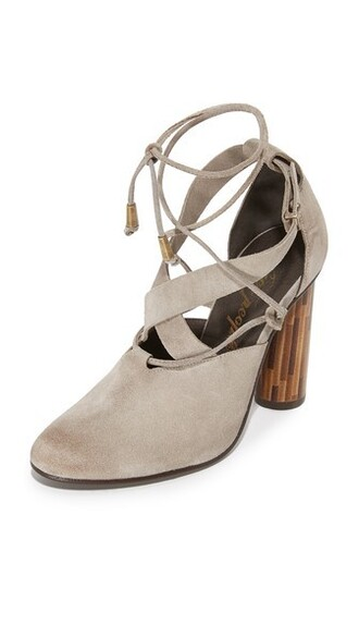 pumps taupe shoes