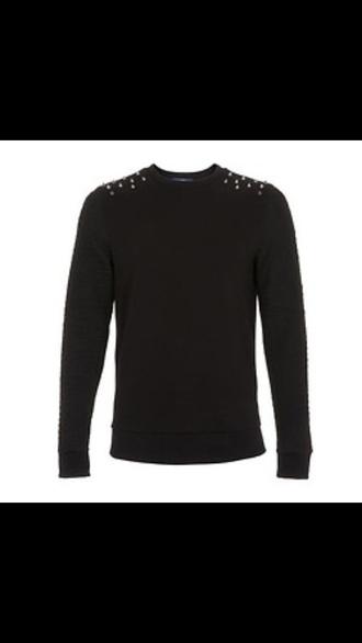 t-shirt black studded danisnotonfire dan howell
