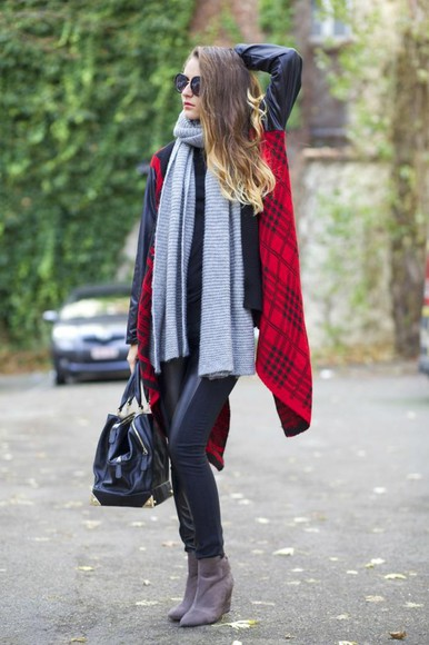 scarf from brussels with love pants sweater bag sunglasses