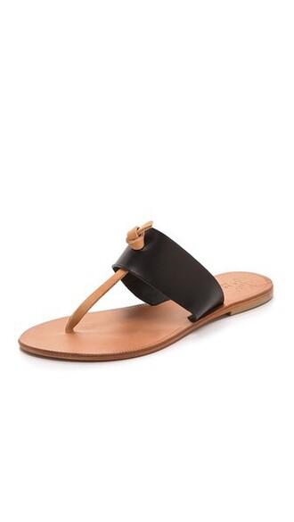 nice sandals black shoes