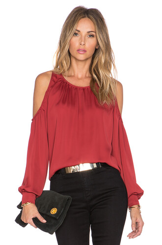 blouse red