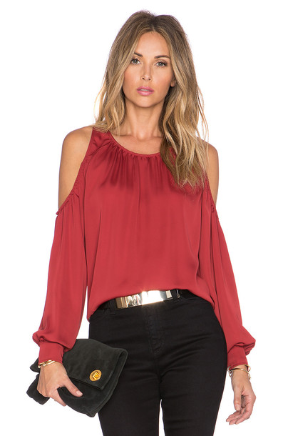 L'Academie blouse red