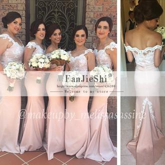 dress trompete abendkleid evening dress sweetheart dresses marriage mermaid prom dress happy prom dress pink dress bridesmaid