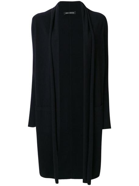 Iris von Arnim cardigan cardigan long open women blue sweater