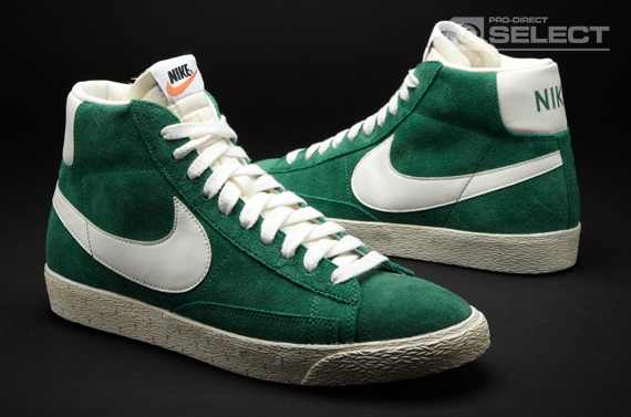 nike blazer vintage green