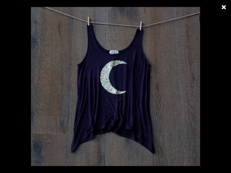 top moon shirt