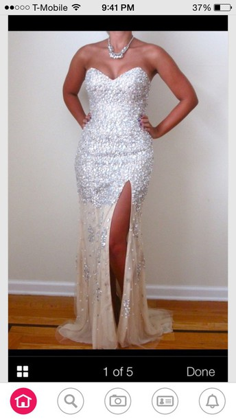 dress strapless prom dresss prom dress