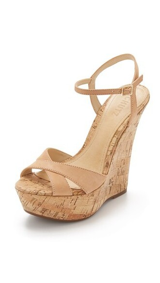 wood light sandals wedge sandals shoes
