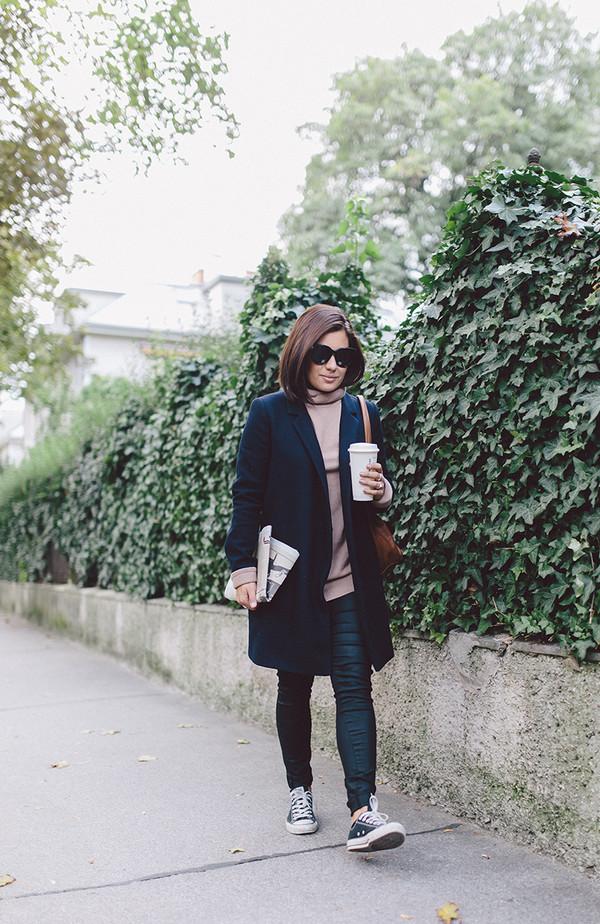 dariadaria blogger bag coat sweater