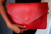 bag,red bag,classy wishlist,pouch