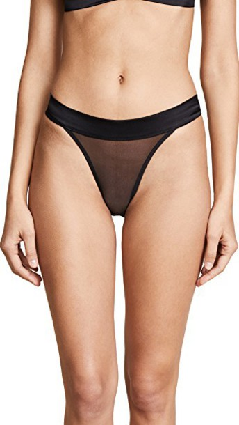 Kiki de Montparnasse panties black underwear