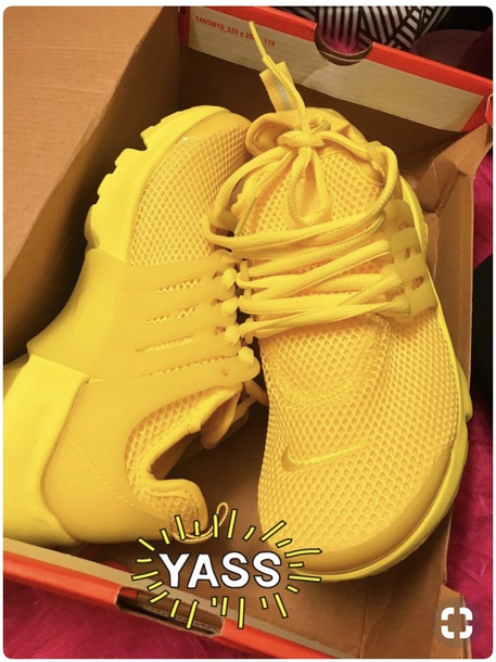 shoes yellow nike nike running shoes nike sneakers nike presto