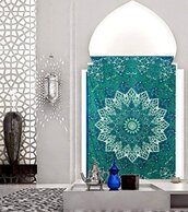 home accessory,mandala wall hanging,magical night star mandala tapestry,magical thinking wall hanging,wall tapestry,hippie,home decor,holiday home decor,tribal pattern,trippy,psychedelic tapestries